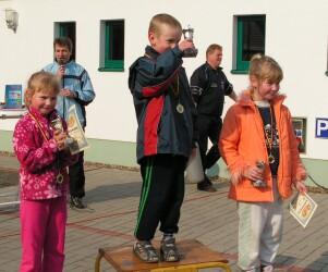 Siegerehrung Wiesellauf 2006