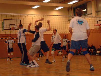 Endspiel Volleyballturnier 2004